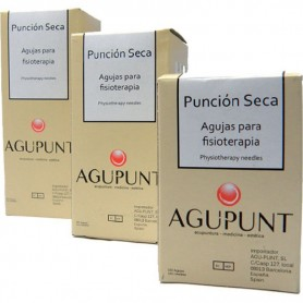 AGUJAS FUNCION SECA CON GUIA 0,16X25MM.